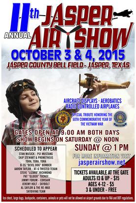Jasper Air Show 2015