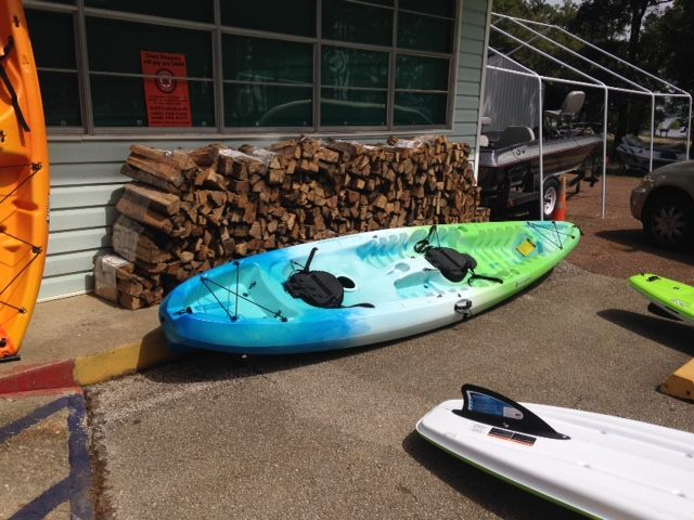 Powell Park kayaks paddle boards